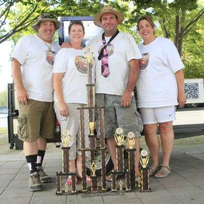 Way Out West BBQ Championship 2012 Grand Champion - Too Ashamed to Name BBQ Team